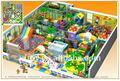 Parque de diversões brinquedo crianças parque para crianças