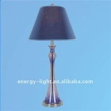 2014 Blue Glass Table Lamp Modern Or Desk Lamp Lighting of CE