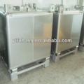 350 galones de acero inoxidable a granel de almacenamiento de líquidos ibc tanque