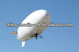 50ft Advertising RC Blimp with professional camera deck