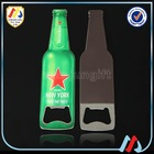 2014 Beautiful Design Bottle Shape Beer Bottle Opener With Magnetic