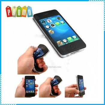 Cheap PU Stress Ball in Iphone Shape