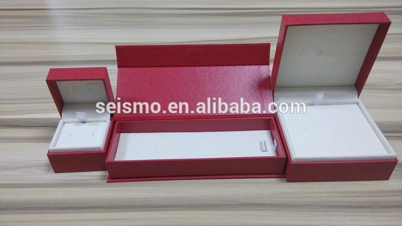 New design plastic gift jewelry box for 2014