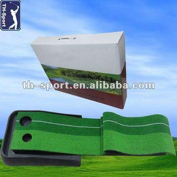 Indoor Mini Golf Putting Practice