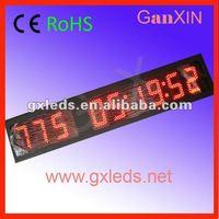 large 8inch waterproof countdown/count up ali express multifunction metal desktop clock