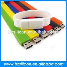 Economic 4gb wristband usb ,silicon wristband usb drive,bracelet usb flash drive