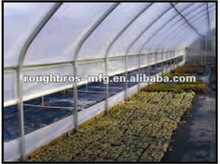 Tunnel Double Layer Poly Film Greenhouse For Flower