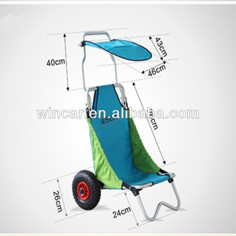 Faltbar strand winkc208 trolley warenkorb einkaufswagen - Carro playa carrefour ...