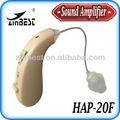 Retroauricular enhancer audiencia/amplificador de sonido/prótesis de oído hap-20f