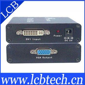 dvi to vga connector Converter HD 1080P