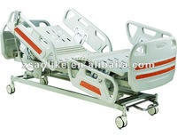 Hospital beds for sale Three Function Electric ICU hospital bed with Control brakes