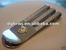 custom money clip wallet
