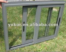 Double glazing aluminium sliding window