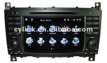 Special Car DVD Player for Mercedes Benz CLK W209 with Origin CANBUS