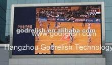 wall mounted led basketball court display