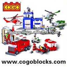 COGO block toy Policemen series wholesale kids toys