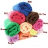 J101 Pure Color Nanotechnology Multipurpose Water-absorbent Microfiber Pet Dog Towel for Bathing Colorful Fast Shipping