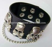 leather bracelet, leather jewelry,leather wristband