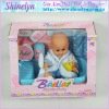SLD-290 newest Bebe baby doll and play house toy bathe game hot selling attractive with no hair