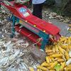 Tractor driven corn husker