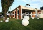 rechargeable colorful waterproof garden ball light DT003
