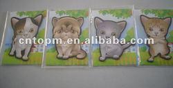 Animal magnets sheet