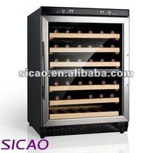 48 Bottles Stainless Steel Wine Cooler For Wine Restaurant Bar And Resort