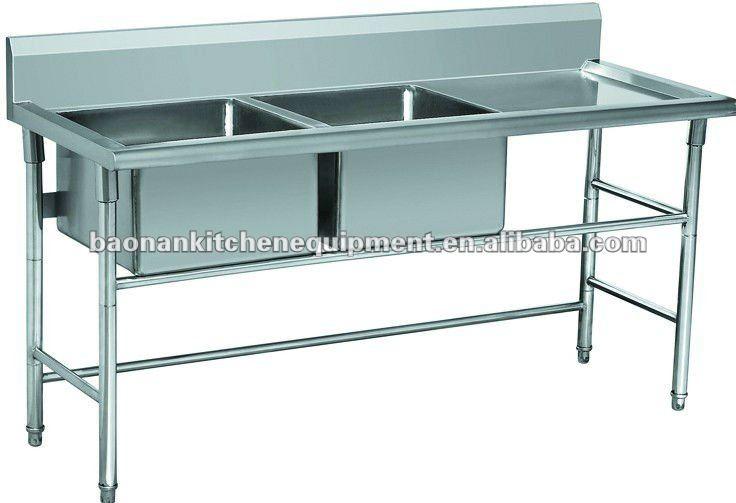 Restaurant Kitchen Sink Bench, Catering Equipment, View restaurant ...