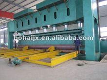 Straight seam welded pipe forming machine