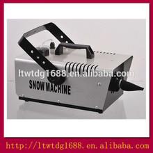 1200w Remote control snow making machine,stage dj equipment