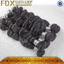 Best selling 2015 new items fadianxiu beauty hair aliexpress 100% virgin mongolian loose wave hair