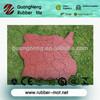 regular anti-abrasion outdoor Sideway/walkway/playground/Gym rubber flooring tiles/pavers/block rubber stones
