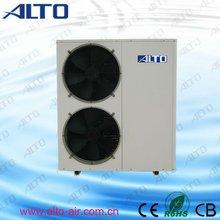 Wireless control EVI heat pump side wind flow