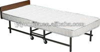 hotel bed roll away /folding single bed/portable bed