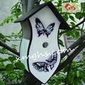 branco gaiolas de pássaro decorativas