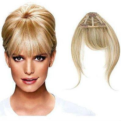 Clip In Fringe Bangs Human Hair 28