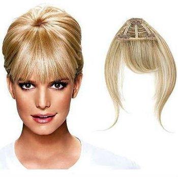 Frangia extension hairdo