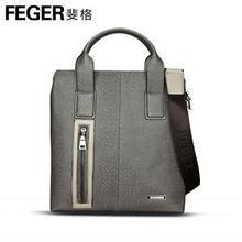 simple designer cowhide leather hand bag for men