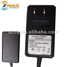 wall type AC DC 12v 1.5a constant current led driver