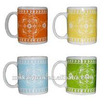 11oz colorful ceramic mug