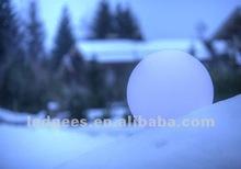 PE material Diameter DMX support 20,30,40,50,60cm led lighting christmas ball