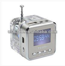 2012 Hot Selling Music Partner New Arrival USB Mini Speaker NiZHi TT029