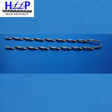 preformed helical guy grip for electric power cable
