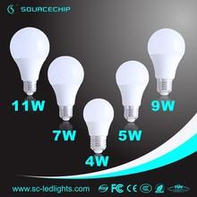 led ceiling lamp 4W 5W 7W 9W 12W,E27 B22 ce rohs led lamp,2015 led the lamp
