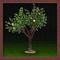 yılbaşı tatil adı elma ağacı ışığı yapay elma dekorasyon bahçe dekoratif yapay elma ağacı zhongshan