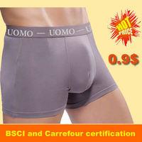 yiwu underwear factory 100% custom cotton cheaper uomo boxers men's underpants