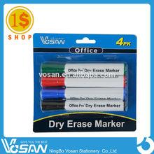 1 Dollar Shop Bright Dry Erase Markers cheap Pen Plastic White Board Marker
