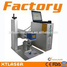 Eastern mini fiber laser marking machine for sale XTL-F10 + skype: xtlaser103
