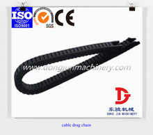 Supply Igus 10 Series small plastic bridge type cable drag chain for CNC machine