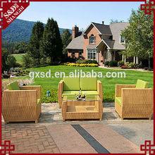 classical rattan sofa & chair set outdoor garden furniture